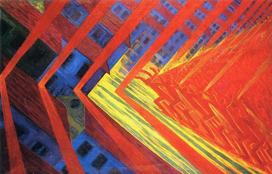 Модернизм – это стиль в живописи, архитектуре, литературе, искусстве