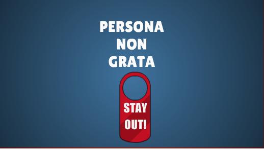 Список людей, объявленных персонами нон грата - list of people declared persona non grata - qwe.wiki