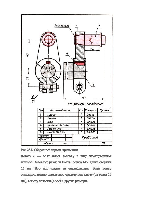 2) что такое деталирование чертежа сборочной единицы? деталирование выполнение чертежей деталей по чертежу общего вида сборочной единицы.