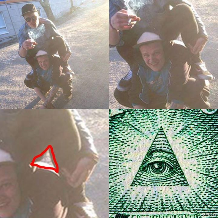 Кто такие иллюминаты? знак иллюминатов