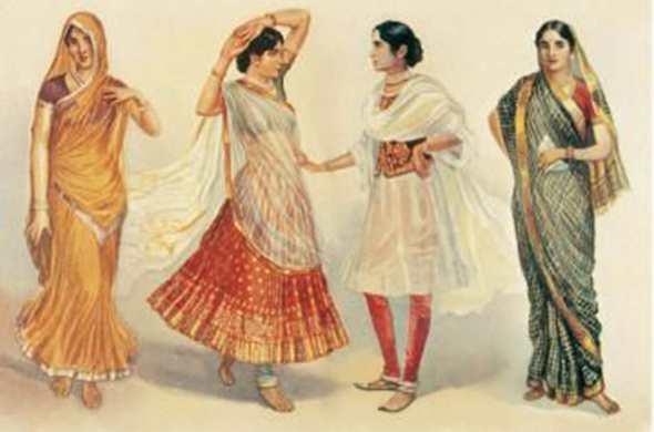 Индийское сари в моде: история, расцветки, 265 фото, как завязать