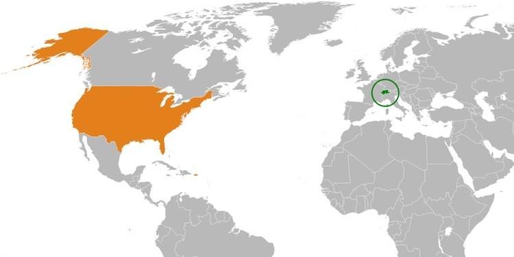 Сша: штаты и их столицы. зависимые от америки территории