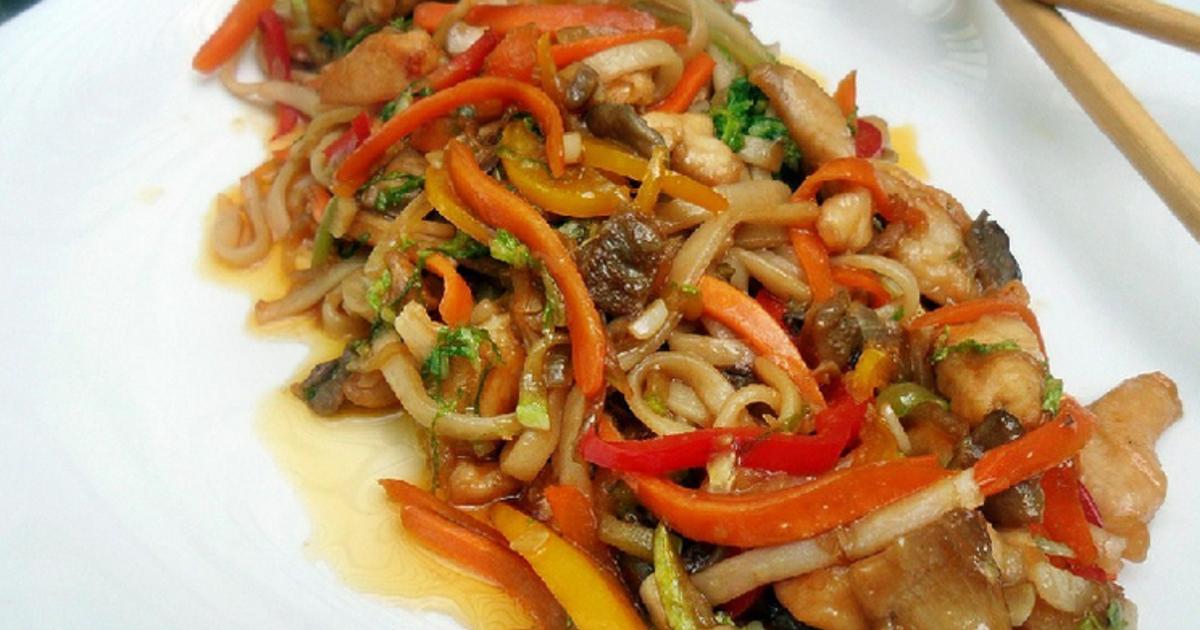 Лапша удон: рецепты приготовления в домашних условиях