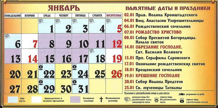 Что такое сплошная седмица в православном календаре? :: syl.ru
