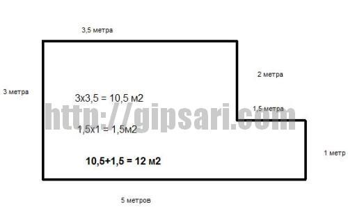 Как вычислить квадратные метры - wikihow