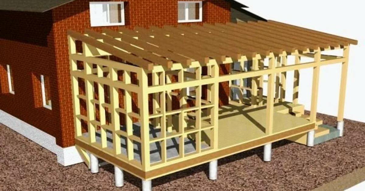 Чем отличается веранда от террасы. особенности строительства