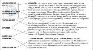 Что такое словарная статья для словарика синонимов. примеры словарных статей - болезни и медицина