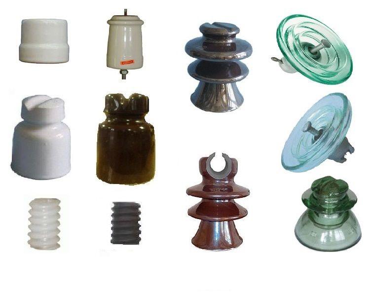 Типы изоляторов воздушных линий электропередачи