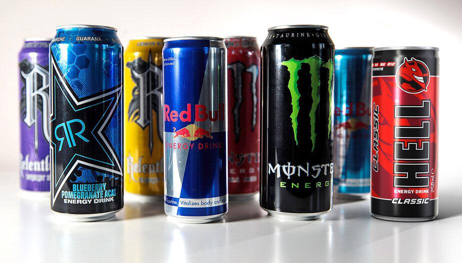 10 самых популярных энергетических напитков в мире
