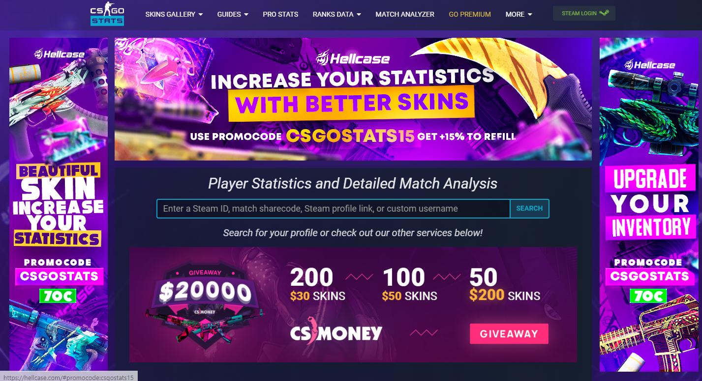 Анализ своей статистики в cs:go, как залог прогресса | статьи по cs:go
