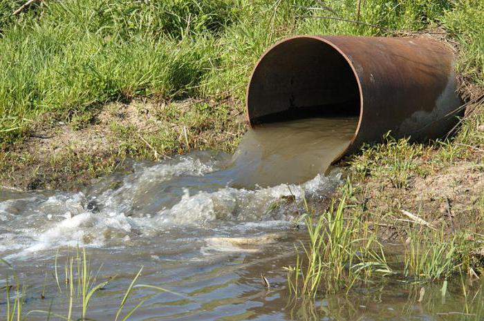 Сточные воды — это грязные воды