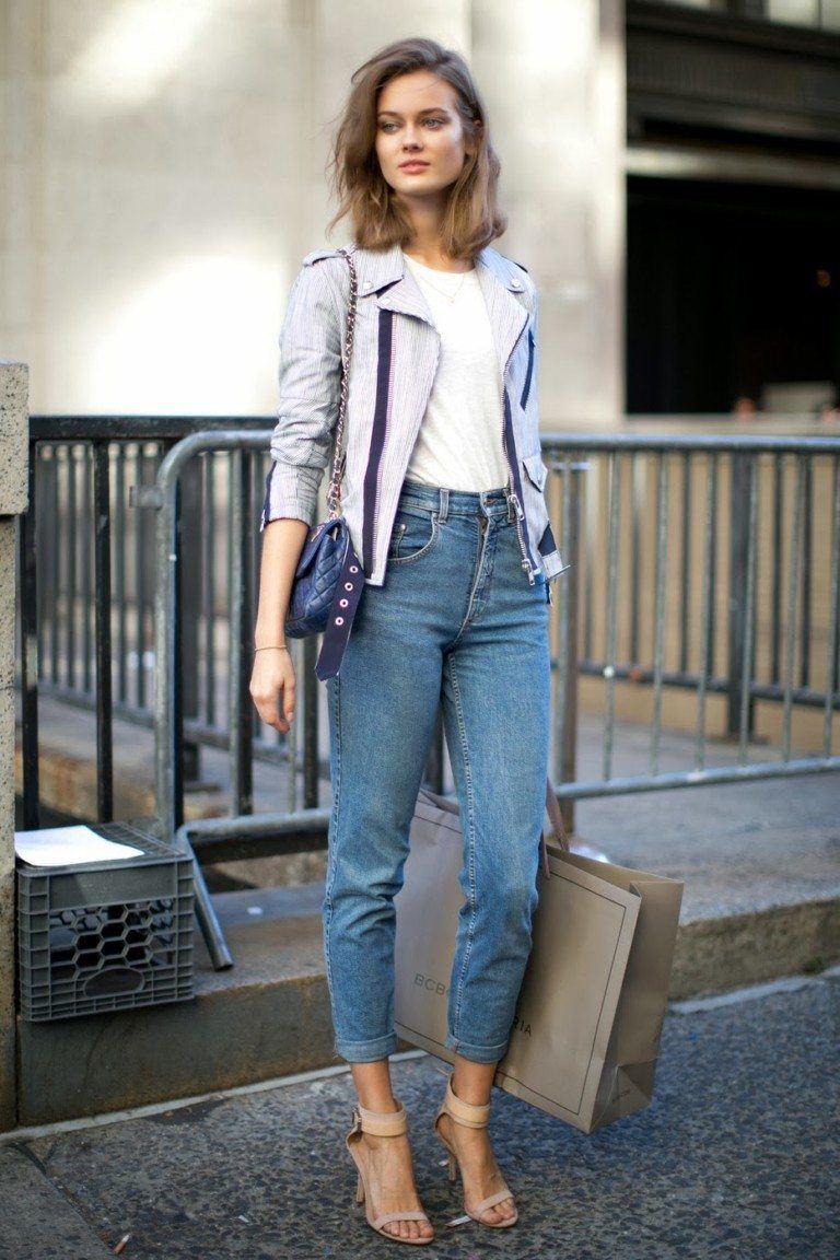 Модные джинсы mom: разновидности моделей, с чем носить, идеи лучших луков