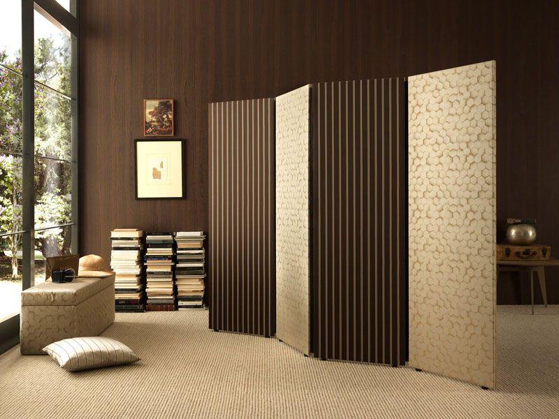 Ширмы для зонирования пространства в комнате: гид по материалам и дизайну