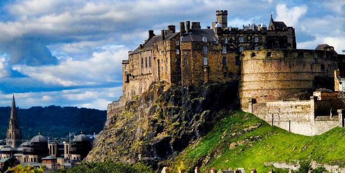 Эдинбург — столица шотландии
