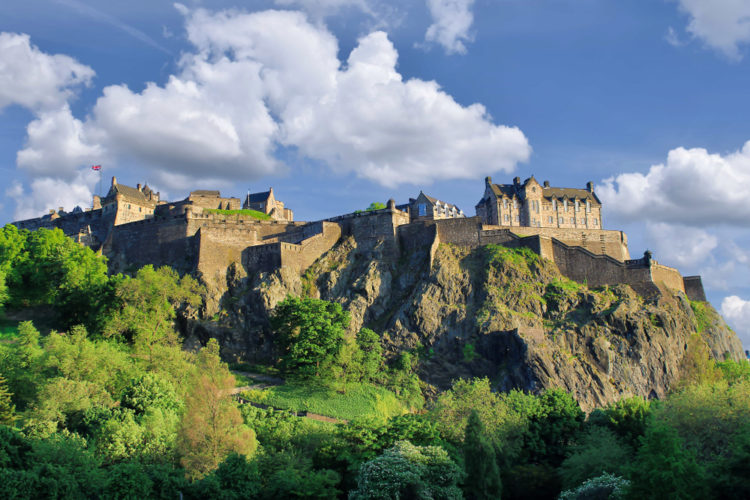 Столица шотландии википедия