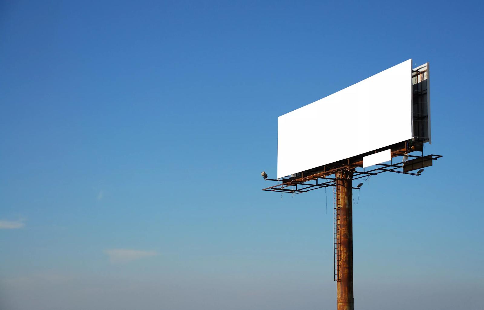 Билборды - что это? рекламный щит большого размера для размещения наружной рекламы: размеры, конструкция, установка