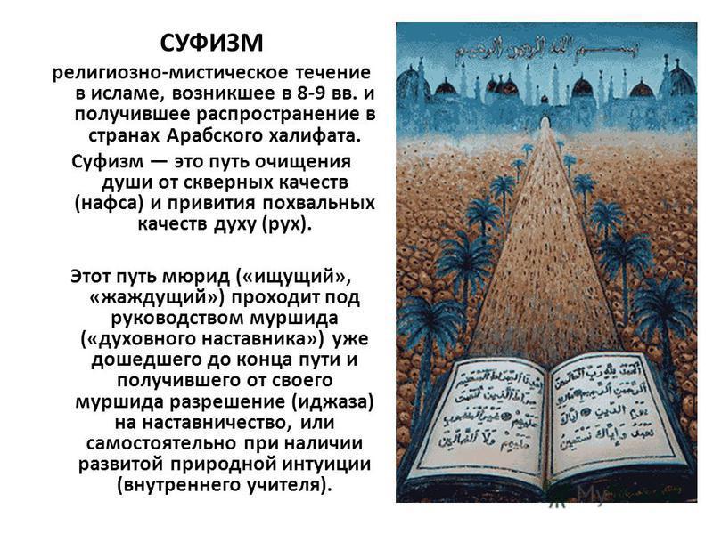 Суфизм — традиция
