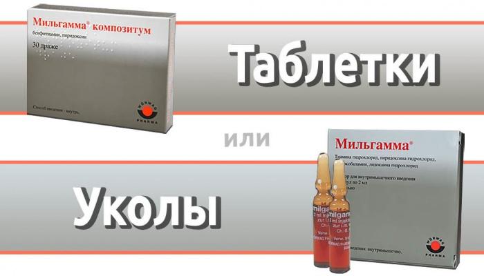 Мильгамма: инструкция по применению цена отзывы аналоги, таблетки, уколы внутримышечно, состав, показания