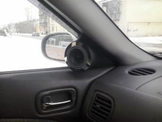 Как установить и подключить рупор к магнитоле в машине своими руками