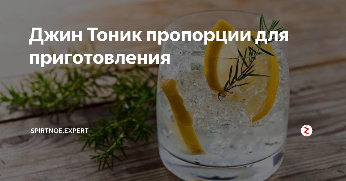 Лучшие рецепты джин-тоника: особенности приготовления