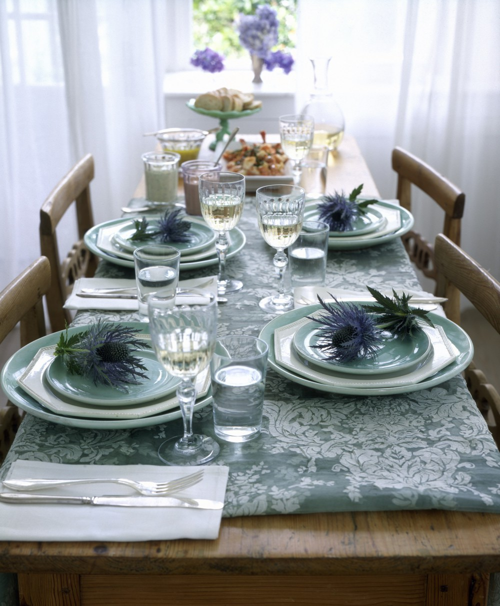 Правила сервировки стола в домашних условиях: 6 шагов и 50 фото