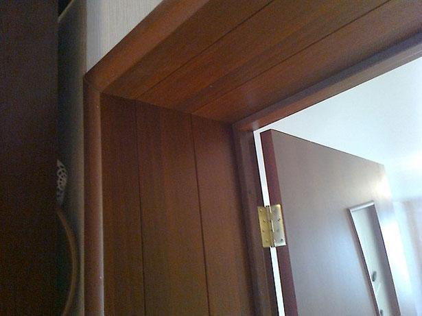 Выбор и установка доборов межкомнатных дверей