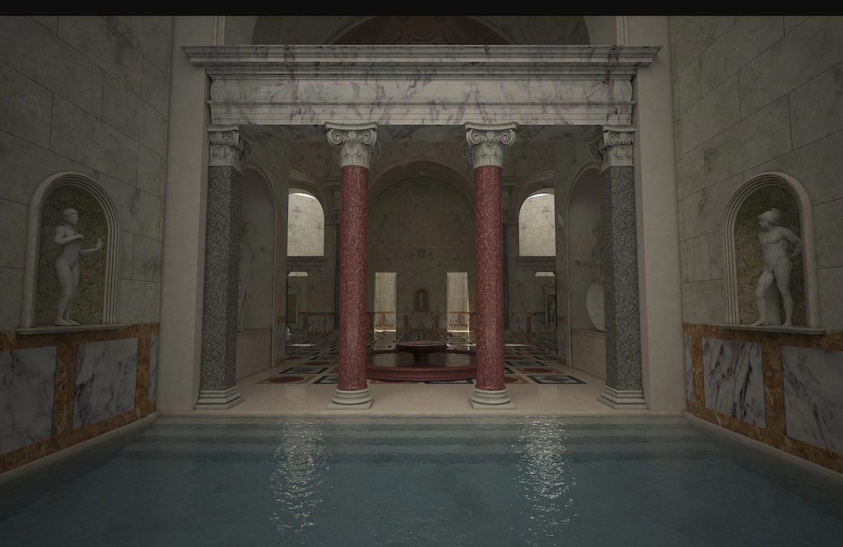 Что такое термы? античные бани в древнем риме