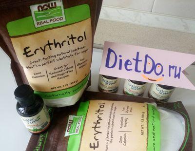 Эритритол (эритрит): польза и вред, отзывы