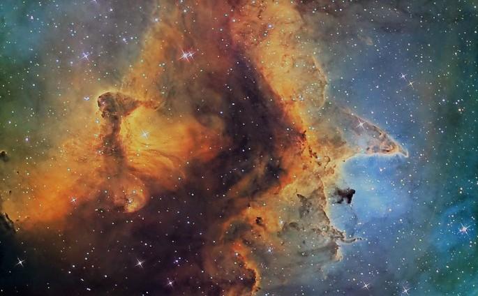 Туманности в космосе - астромания