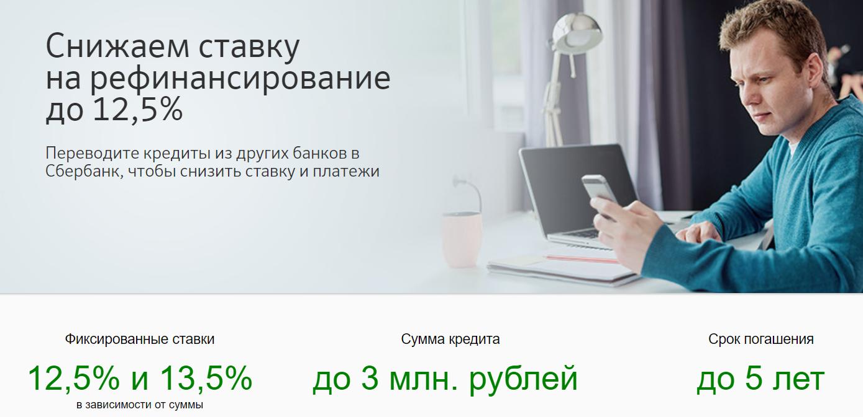 Рефинансирование кредита в сбербанке россии: условия перекредитования для физических лиц в южно-сахалинске, ставки, онлайн расчет