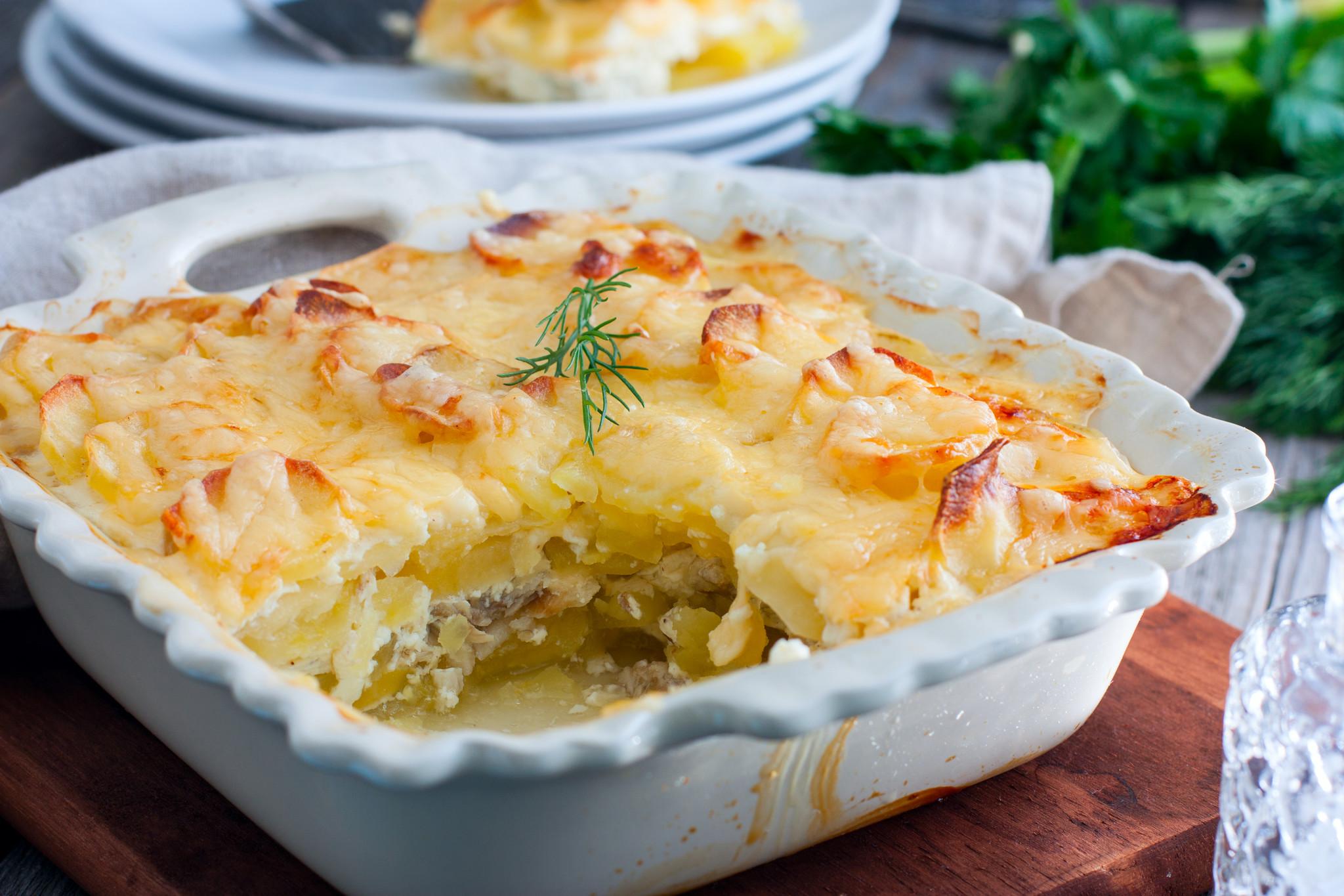 """Почти """"картофельный гратен"""" – кулинарный рецепт"""
