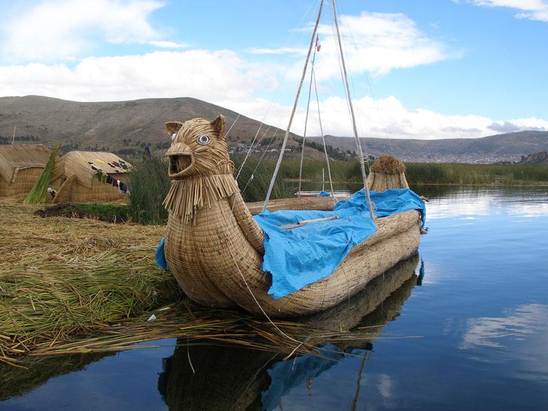 Озеро титикака - lake titicaca