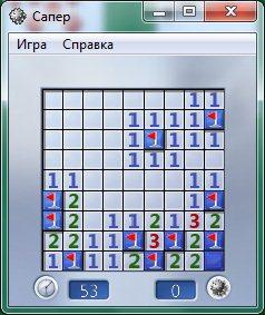 «сапер» — играть онлайн