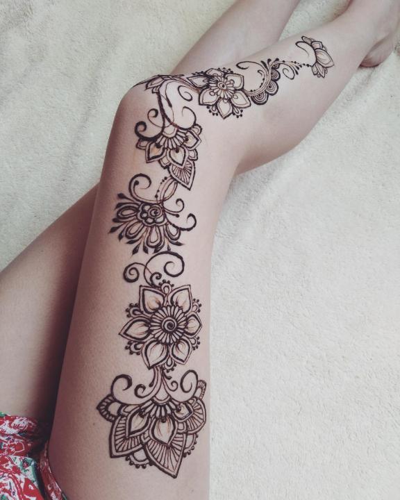 Мехенди — что это такое. рисунки хной на теле для начинающих. эскизы, узоры тату
