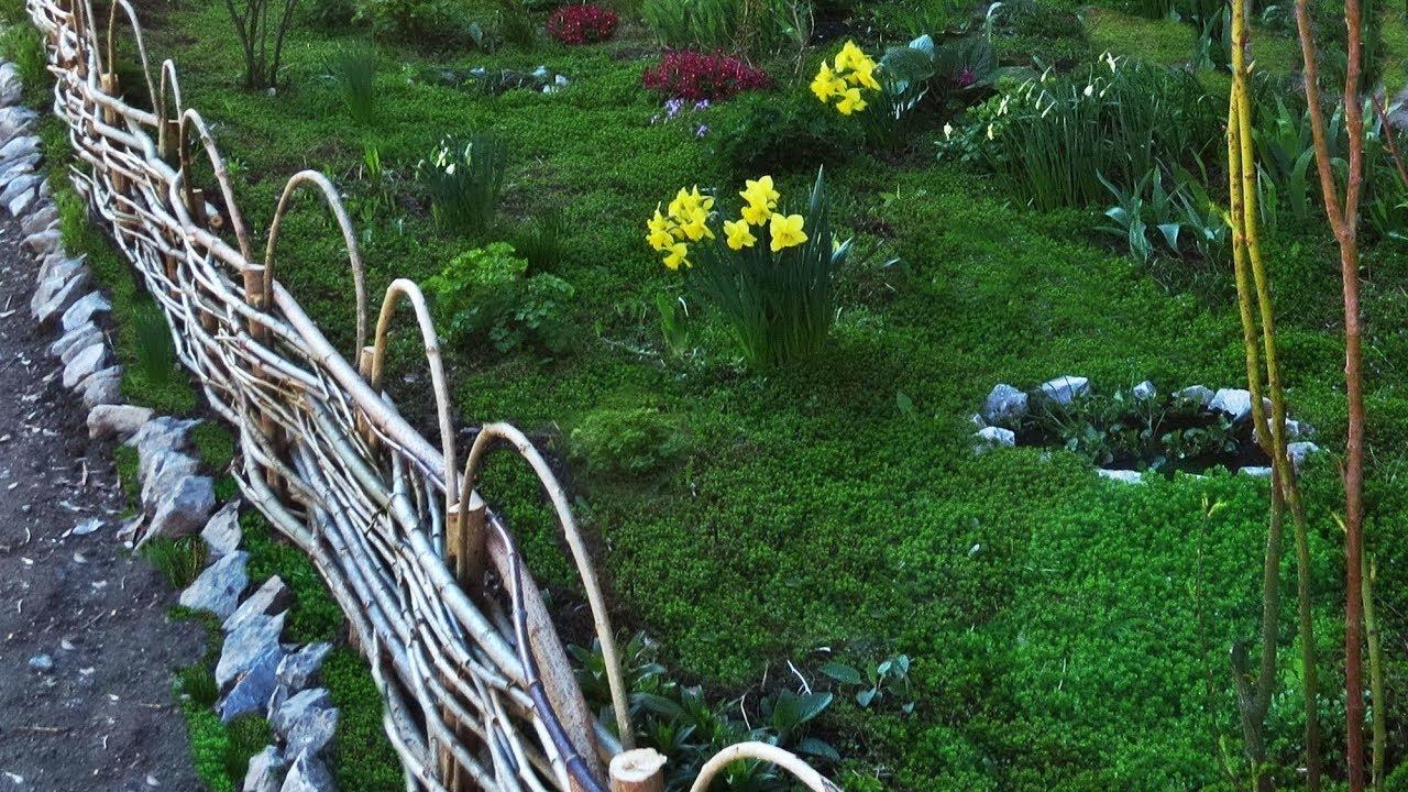 Как сделать плетень: характеристики забора и материалы для его изготовления
