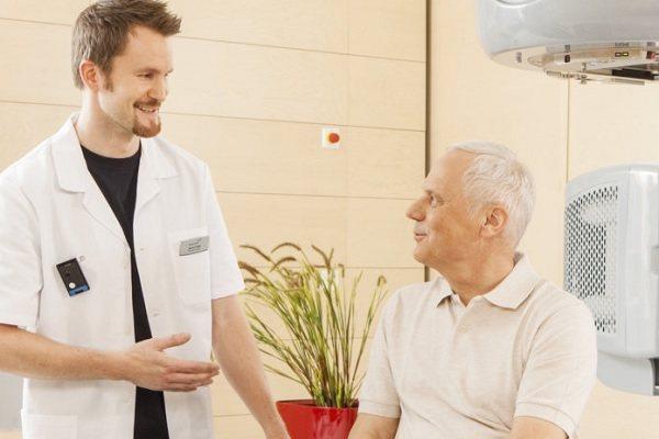 Лучевая терапия при раке лёгких