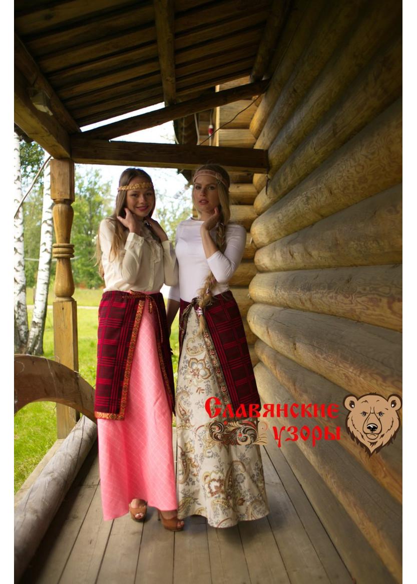 Кириллица    понёва: каким женщинам на руси было запрещено носить эту юбку