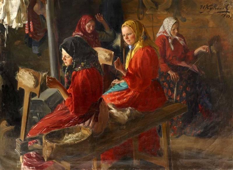 Веретено и прялка – путь через века