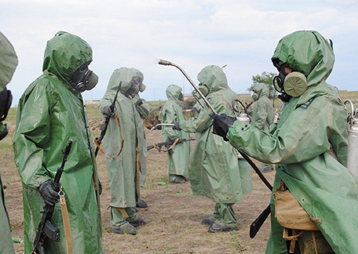 История развития химического оружия