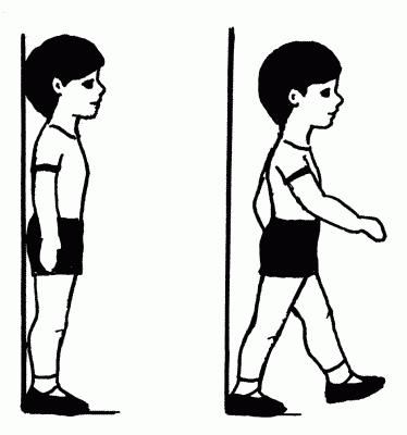 Правильная осанка у детей: залог хорошего здоровья
