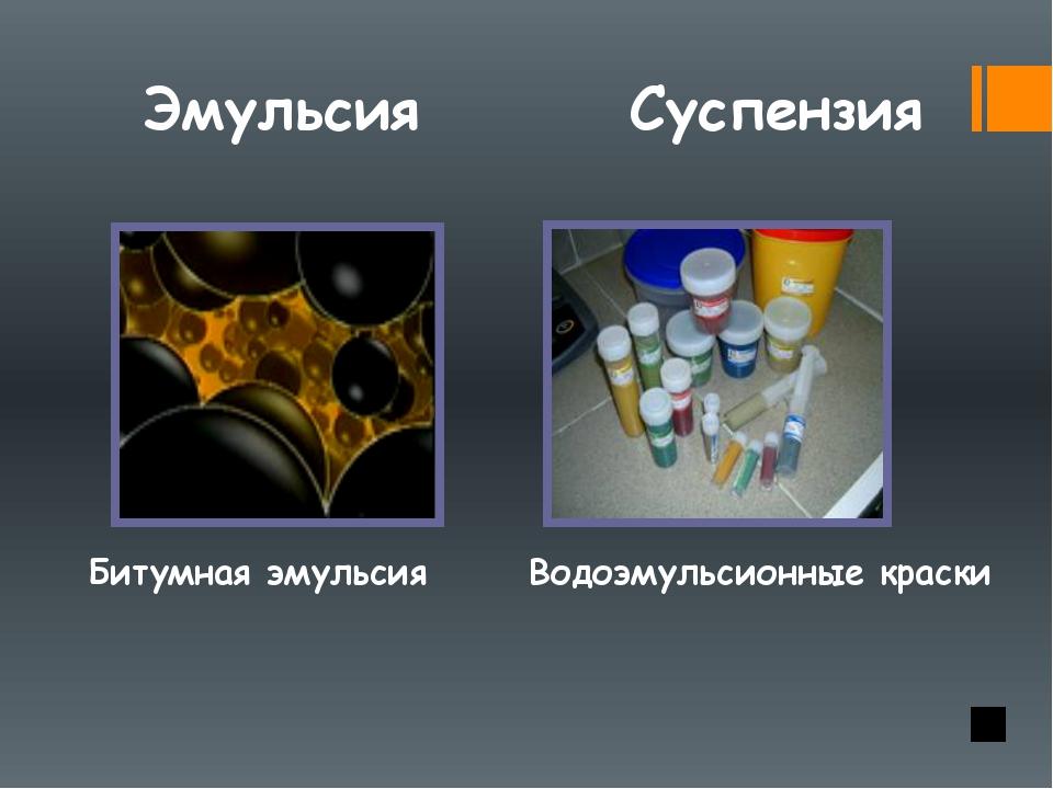 Эмульсии. определение, классификация, технология, примеры.