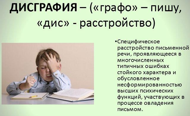 Дисграфия у младших школьников. профилактика и коррекция дисграфии