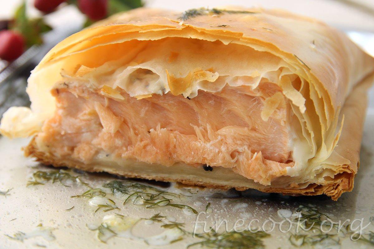 Сырная тиропита из теста фило – кулинарный рецепт