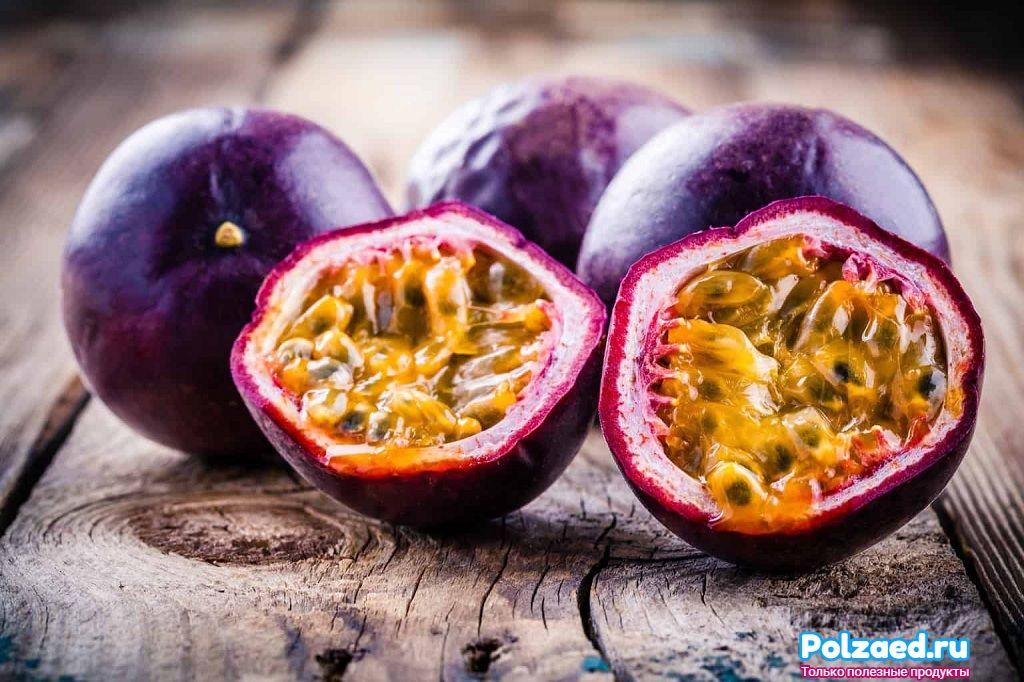 Полезные свойства маракуйи для организма человека и правила выбора спелого фрукта