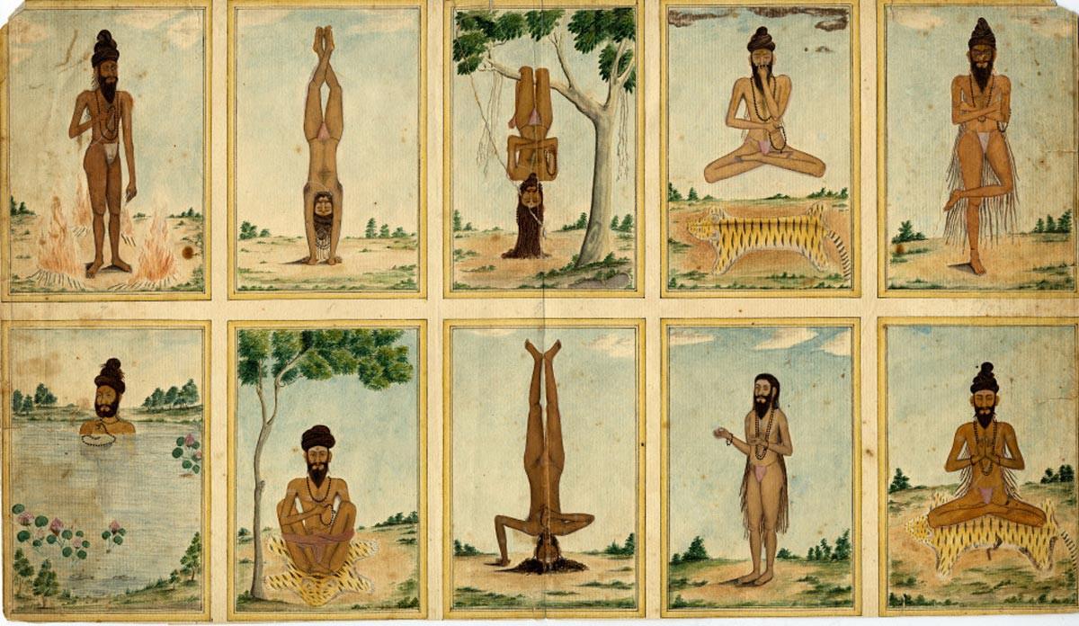 Древние виды йоги