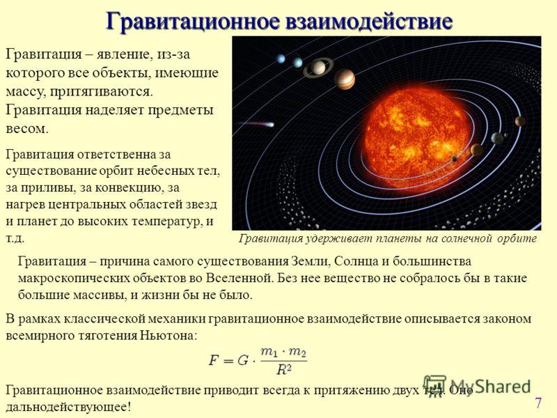 Глава 6. что такое гравитация