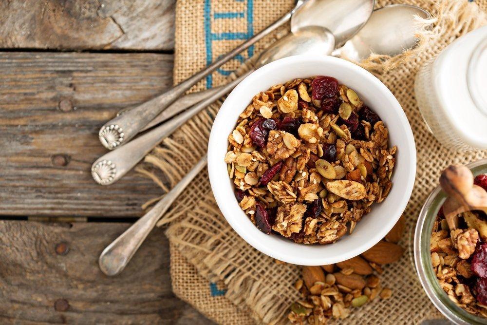 Что такое гранола  и как ее приготовить | здоровое питание