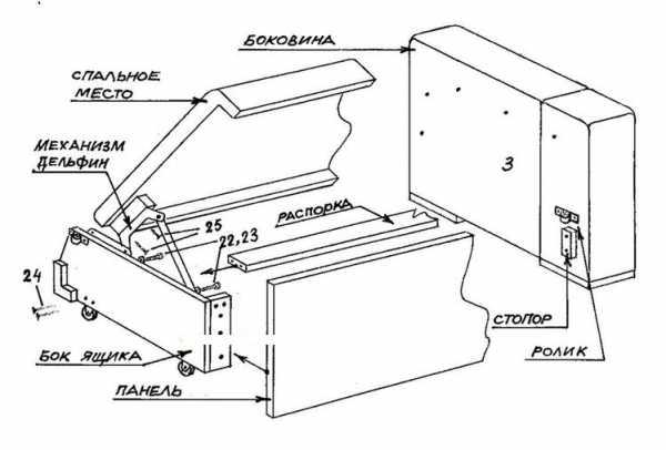 Тахта с ортопедическим матрасом и ящиком для белья: виды и выбор