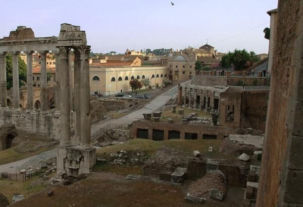 Где расположены колонны древнего рима? интересные факты, история появления