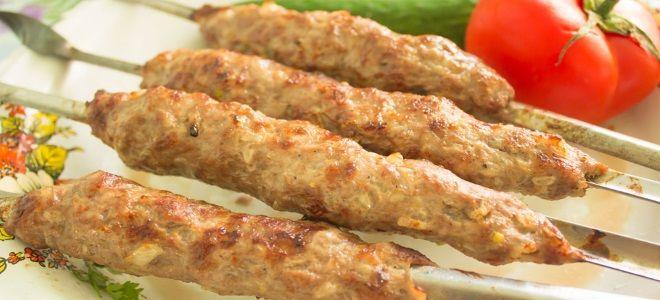 Рецепт фарша на люля кебаб из свинины: описание, способ приготовления из говядины, баранины в домашних условиях, советыот домохозяек